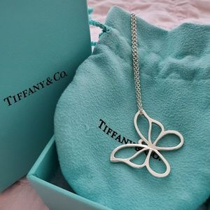 Tiffany's butterfly necklace